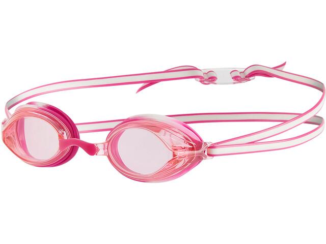 speedo Vengeance Goggles Kids white/ecstatic pink